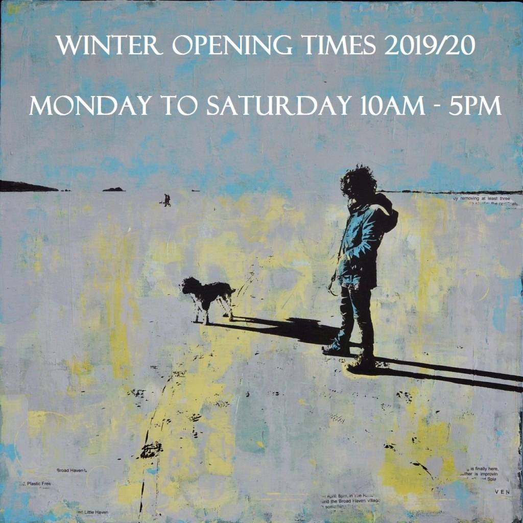 thumbnail_Dog Walking Broad Haven 66.5cm x 66.5cma