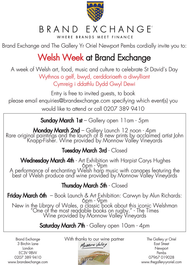 Welsh Week at The Brand Exchange image 2